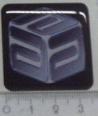 ACube sticker with border